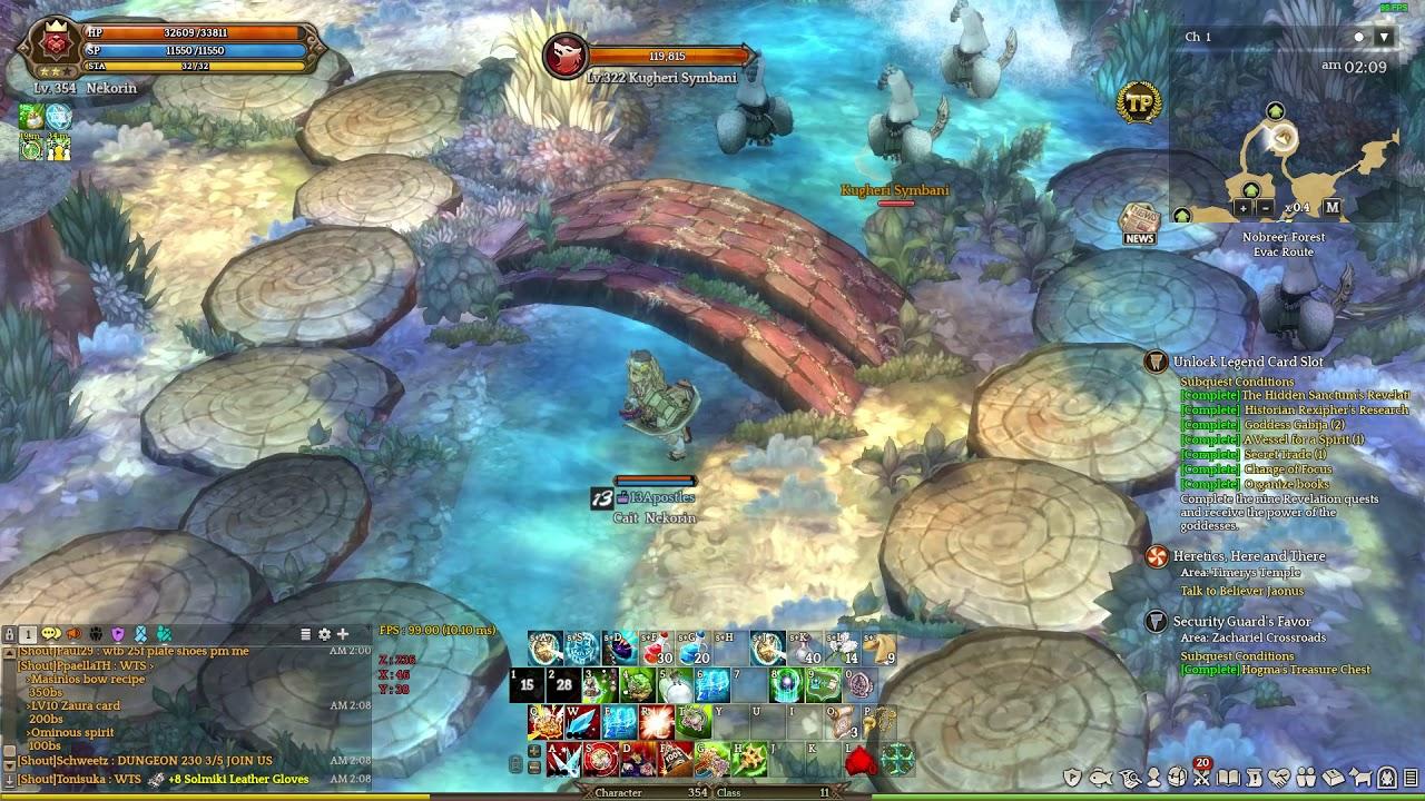ToS – Build] Wizard Kino Build 1 – Dream Eater – Nekorin info
