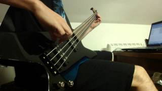 In Flames - Only For The Weak (bass cover)