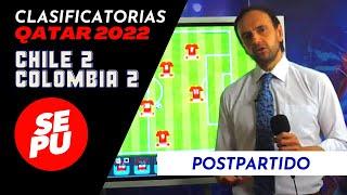 ¡EN VIVO! Postpartido Chile vs Colombia - Clasificatorias Qatar 2022