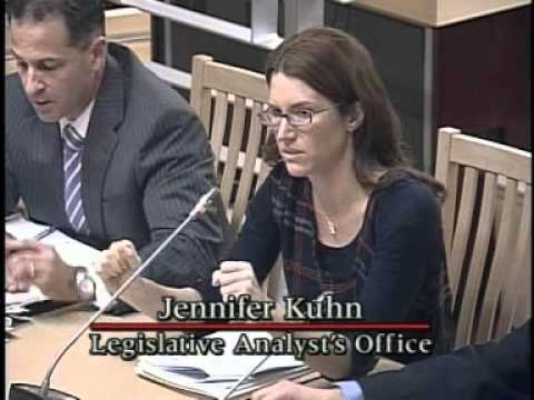 Senate Budget and Fiscal Review Committee #1 on Education 1/24/2011