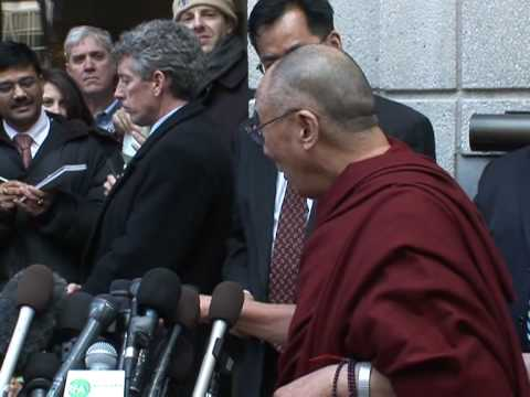 Obama offers support for Tibet, Dalai Lama