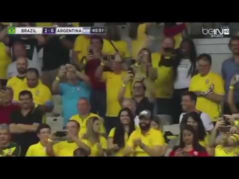 Brazil vs Argentina 3 0 HD All Goals & Highlights 11 11 2016