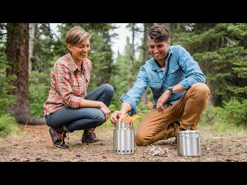 How to Fire up a Solo Stove