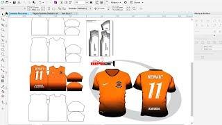 Sublimação de Camisetas como inserir Power Clip no Corel Draw