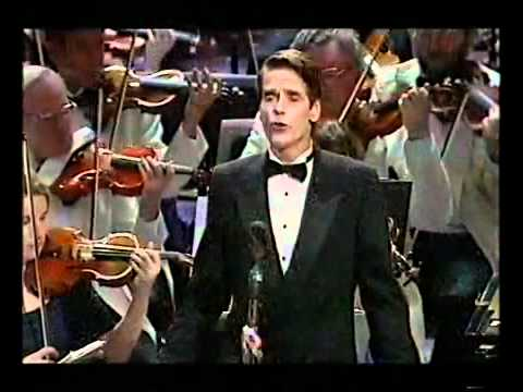 LONDON PRIDE Jeremy Irons BBC Proms 1999