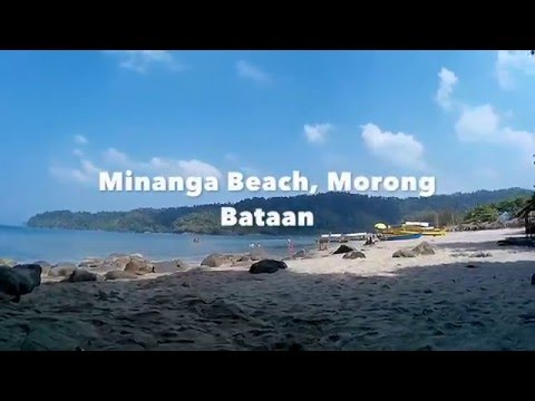 The Clear Waters Of Minanga Beach, Morong Bataan