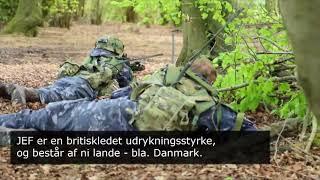Forsvaret på øvelse i Sydengland