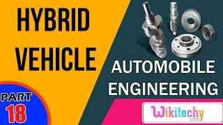 What is a hybrid vehicle | Automobile Interview questions and answers | Automobile Engineering