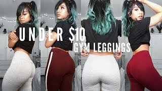 AFFORDABLE CUTE GYM LEGGINGS *TRY ON* HAUL