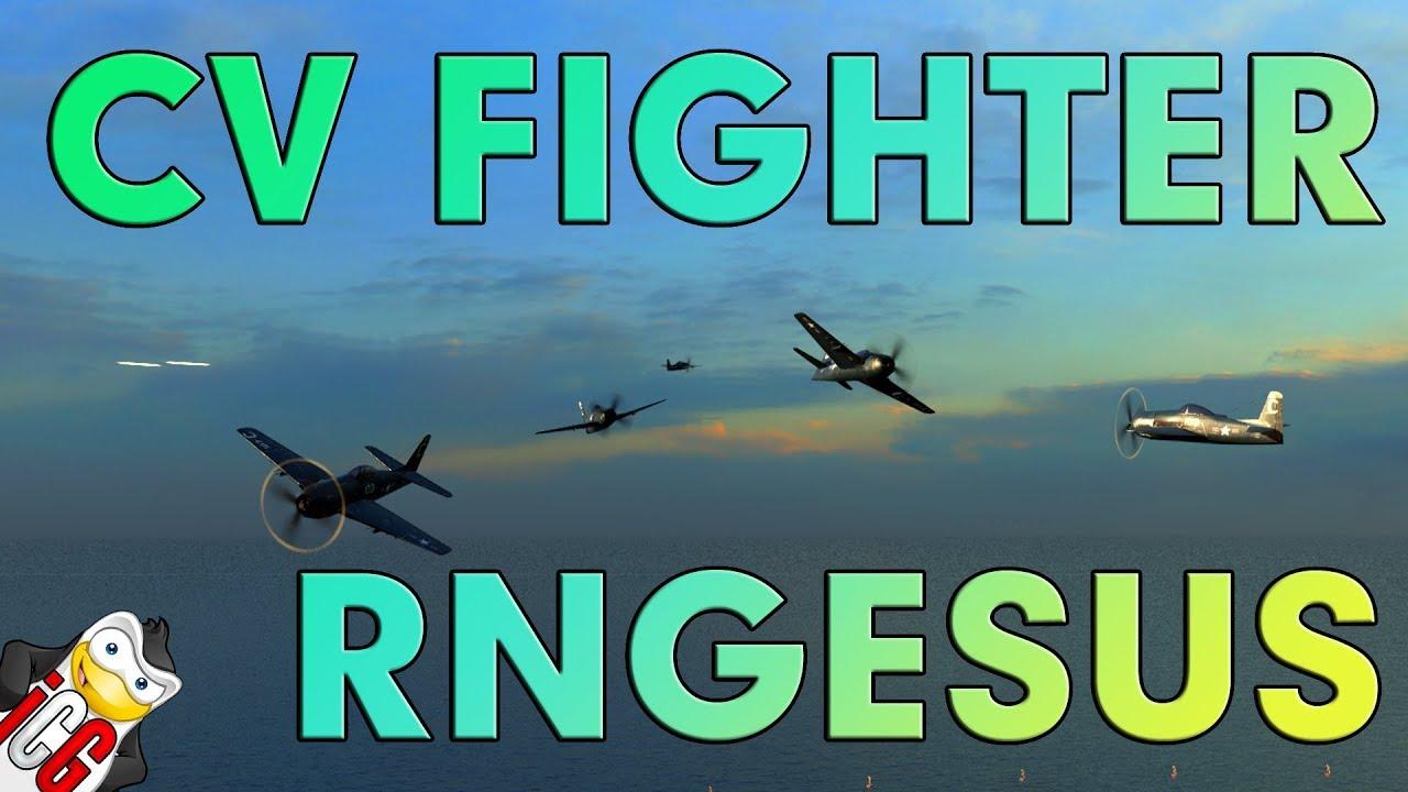 world of warships - cv fighter rngesus