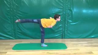 Gleichgewichtstraining - Die gesunden Fünf für Schulkinder