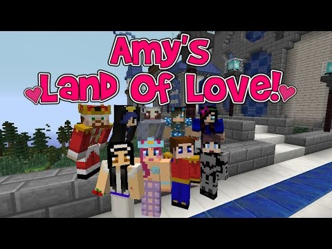 Amy's Land Of Love! Ep.100 Dreams DO Come True! | Minecraft | Amy Lee33
