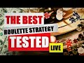 TESTING The BEST ROULETTE STRATEGY Ever | Small Bankroll | Live Dealer Online Roulette Session