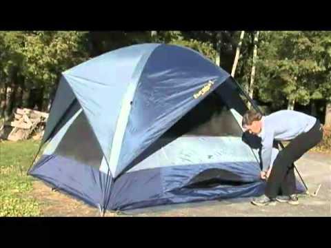 & Sunrise 9 Tent by Eureka! - YouTube