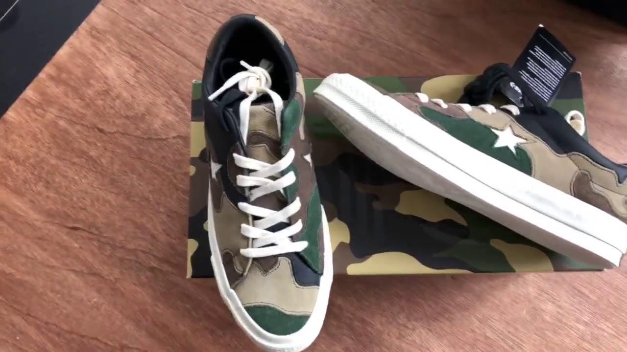 "80498444100d Desempacado  CONVERSE One Star OX x Sneakersnstuff ""Canteen"" - YouTube"