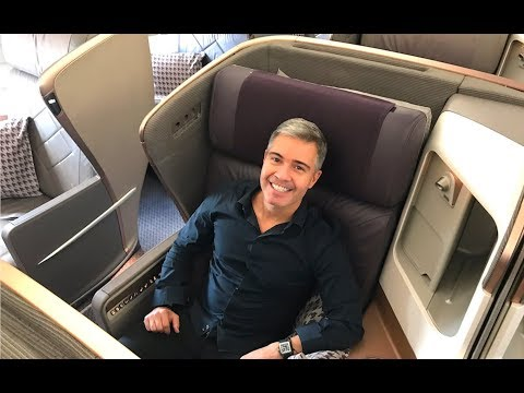 Singapore Airlines A350 Business Class - Johannesburg to Singapore