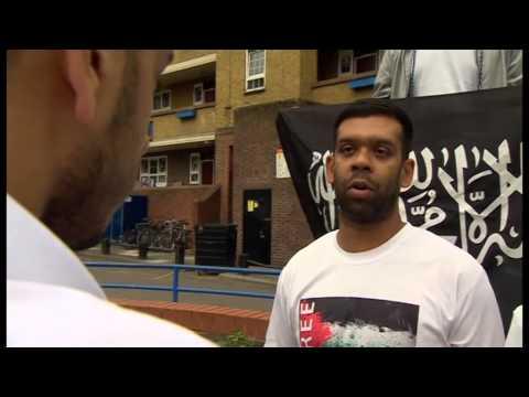 ISIS flag in East London??