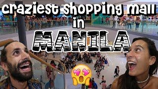 WE DIDN'T EXPECT THIS IN THE PHILIPPINES - FIRST DAY IN MANILA, MALL OF ASIA [VLOG#24]