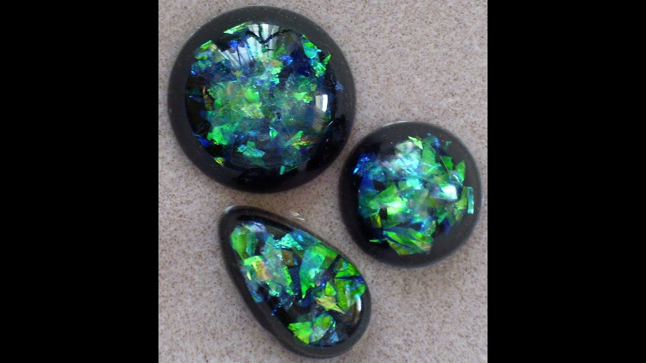 Resin Opals  Faux Opals  YouTube