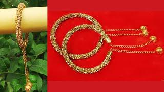 How to make designer bracelet at home | DIY bracelet | reuse old bangles | all design,s at home