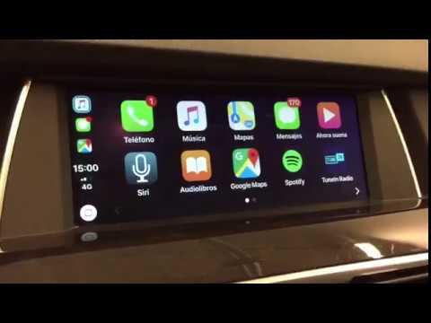 bmw apple carplay android auto interface plug play carplay link youtube. Black Bedroom Furniture Sets. Home Design Ideas