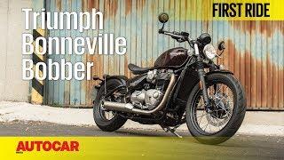 Triumph Bobber | First Ride | Autocar India