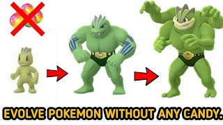 How to evolve pokemon without any candy in pokemon go    TRADE EVOLUTION in pokemon go.