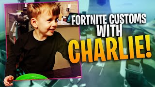 Custom Fortnite lobbies with Charlie!