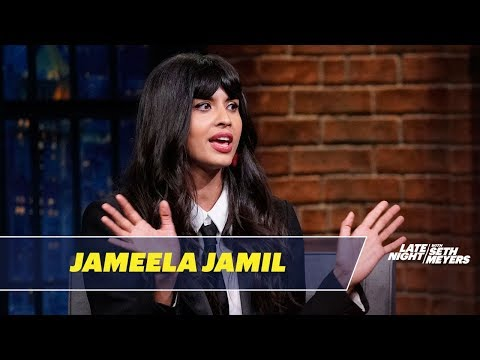 Jameela Jamil Accidentally Used a Vibrator as a Hair Curler