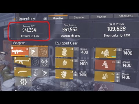 THE DIVISION - 5 SIMPLE WAYS TO INCREASE YOUR WEAPON DAMAGE! (THE DIVISION TIPS & TRICKS)