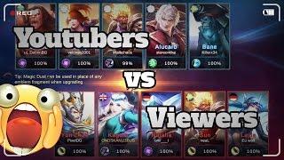 Mobile Legends - Youtubers vs Viewers Match Highlights #1 (Kagura OP)