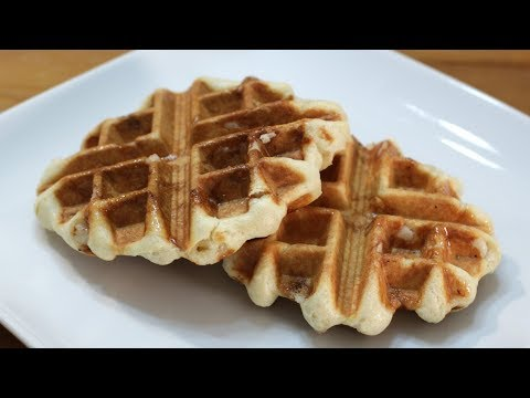 Belgian Sugar Waffles | Easy Liege Waffle Recipe