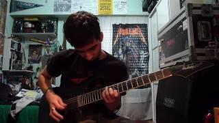 Mastodon - Divinations Cover w/ intro tabs & solo (Josu Alecha)