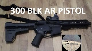 300 blackout ar pistol