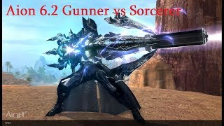 Aion 6.2 KR Gunner 80 lvl vs Sorcerer AOD PVP