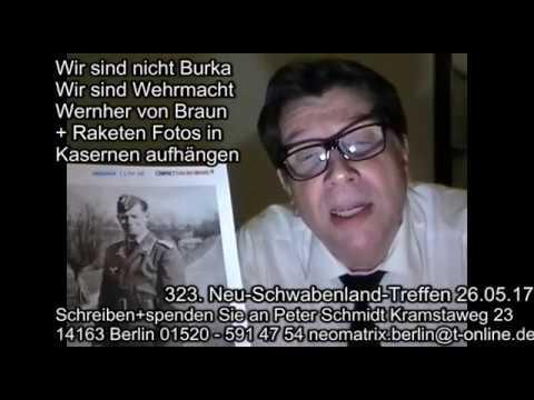 Wir sind nicht Burka Wir sind Wehrmacht: von Braun Fotos in Kasernen 323. Treffen