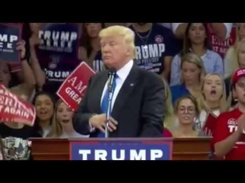 FULL SPEECH: A very animated Donald Trump in High Point, NC today