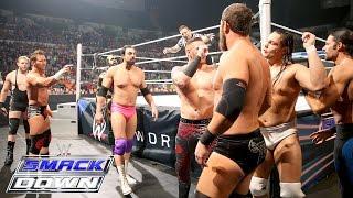 Goldust, Jack Swagger, Zack Ryder & Damien Sandow vs. The Social Outcasts: SmackDown, Jan. 14, 2016