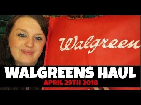 Walgreens Haul April 29th-May 5th 2018 - 동영상