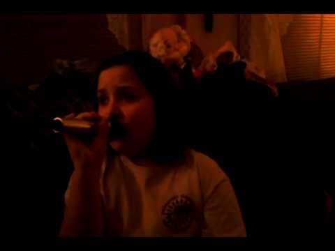 Cheyenne singing California Girls by Katy Perry and Snoop Dogg