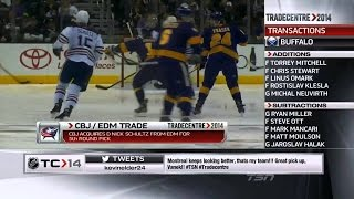 TSN - NHL Trade deadline 2014 Roundup (HD)