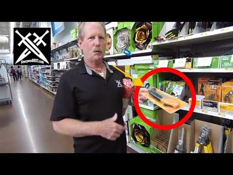 Walmart Hand Saw cuts Down a Tree? Fiskar & Go Pro