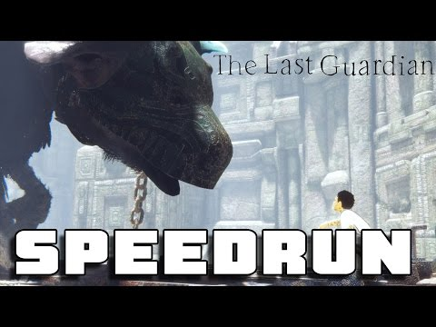 The Last Guardian Walkthrough - 5 Hour Speedrun / No Deaths