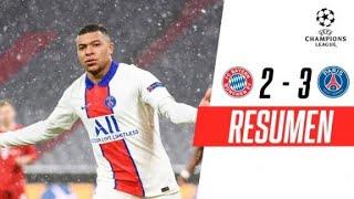 ¡MBAPPÉ BRILLÓ Y LOS FRANCESES SE QUEDARON CON LA IDA! | Bayern Munich 2-3 PSG | RESUMEN