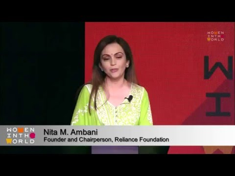 Nita Ambani's Speech on Women's Empowerment