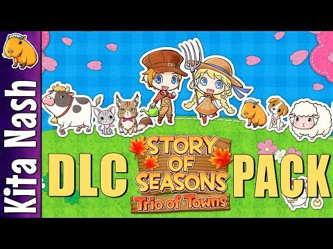 Story of Seasons Trio of Towns DLC Overview ~ How to Download, New Outfits, Meet Woofio & Stephanie