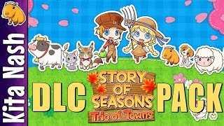 Gambar cover Story of Seasons Trio of Towns DLC Overview ~ How to Download, New Outfits, Meet Woofio & Stephanie