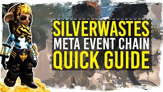 Guild Wars 2 - Quick Guide to Silverwastes Gold Farm / 1080p 50fps