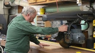 2014-02-01 About Radial Arm Saws - Woodworking Classroom Recording