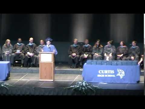 Curtis High School 2015 Senior Class President Speech